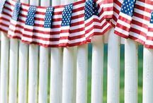 Fourth of July Party / Show your lawn off this 4th of July by having a BBQ or party. We've pinned our favorites!