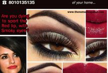 Get Flawless,Beautiful & Trendy Make Up