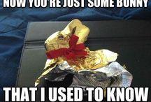 Easter Bunny & Eggs