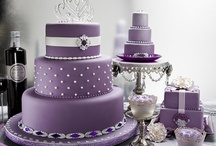 Purple / Lilac Wedding Cakes
