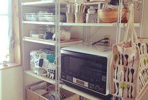 無印良品 収納 キッチン
