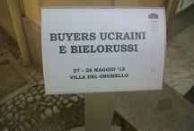 Simultanea @ Villa del Grumello / Incontro tra buyers ucraini e bielorussi 27 e 28 maggio
