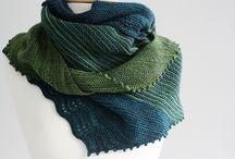 Knitting - shawls, scarfs, cowls, neck warmers