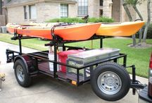 kayak trailer / by Tena Curtis