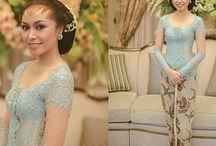 nice blue kebaya
