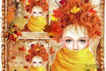 Autumn in Copper/Orange