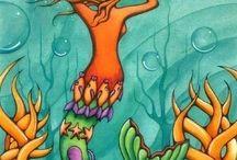 mermaid / by Jazzy Fleur