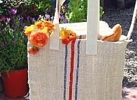 French Inspired Grain Sacks