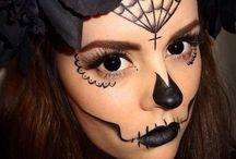 Halloween face paint designs