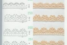 crochet lace / crochet