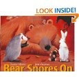 Bear Snores On and other Bear books by Karma Wilson