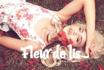 Fleur de lis - February Lookbook Cupcake Fashion - www.cupcakefashion.com.au