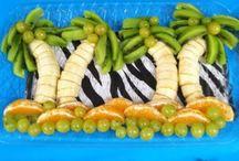 Kids - bento / monkey platter