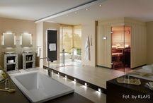 Łazienki z sauną