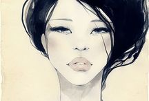 Fashion Ilustrations / Art that bring clothing designers dreams and ideas to life.