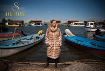 By The River / SARIGIANNI FUR FASHION  Photoshoot 2011-12  IN THESSALONIKI AXIOS RIVER