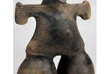 Ancient artifacts / Sculpture- religious - fettish- tribal  / by Jenni Gregory