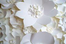 kwiaty papierowe