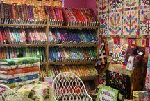 Fabric Shop Display Ideas