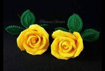 flores a ganchillo sencillas