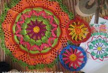 Granny Squares and Crochet Mandalas