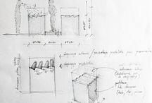 Freestanding counter design - BeClinic