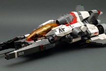 LEGO Sci-fi / Cool mechs and spaceships made out of LEGO!
