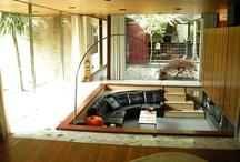 Sunken lounge / Dream seating