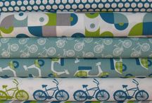Patterns and fabrics and wallpapers