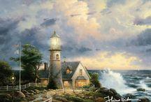 KINCADE Lighthouse ( signed too early )