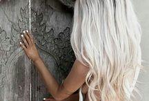 Inspo: blond hair