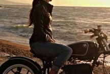 Bike and Woman
