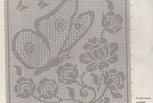 Crochet cuscini