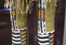 Moccasins and Beadwork