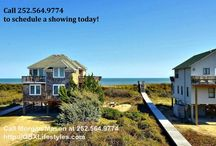 Gracious 4 Bedroom Updated Duck NC Home for Sale | 132 Waxwing Ln / This second-tier, semi-oceanfront home captures the essence of Sanderling. Beautifully maintained, this enchanting cottage has been routinely updated while preserving its Sanderling cottage authenticity. From the open reverse floor plan to the private seating over the dune  and magnificent ocean views from the extensive decking, you will be transported to an Atlantic Ocean paradise. Your dream vacation property awaits you! Call your Outer Banks REALTOR®, Morgan Mason, at 252 564 9774 today.