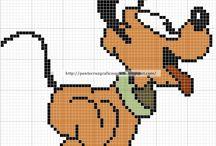 Patroon pixeldeken
