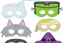 halloween masken basteln