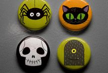 Cute Buttons 1 inch and Magnets