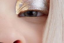 Metallic makeup looks