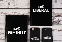 Feminist Liberal Notebooks And Phone Covers
