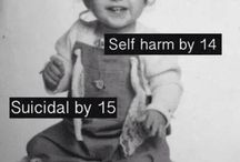 Self harm / I'm just a sad girl