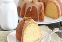 Cakes - Bundt Cakes & Coffee Cakes / by Annika Yerushalmy