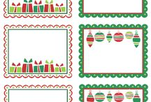 Printables Christmas tag