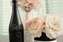 Wedding look / table, garden ...
