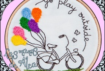 My embroidery / www.lasmanosdealea.com