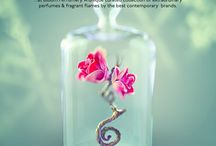 Bloom Perfumery illustration&design / full page ads in magazines, web-banners, etc, design