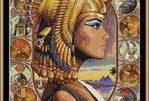 výšivka - Egypt