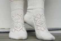 Csipke zoknik