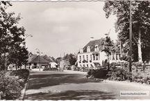 Tolhuisje Baarn / Misschien wel het meest voorkomende plaatje op oude ansichtkaarten. Het Tolhuis, vanaf verschillende kanten bekeken.