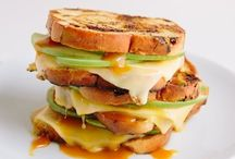grilled cheese & quesadillas / hot sandwiches of all sorts!